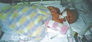 Taegan McFarland at 3 Days Old